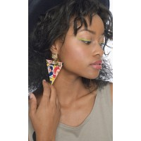 Blondie Pop Art Earring
